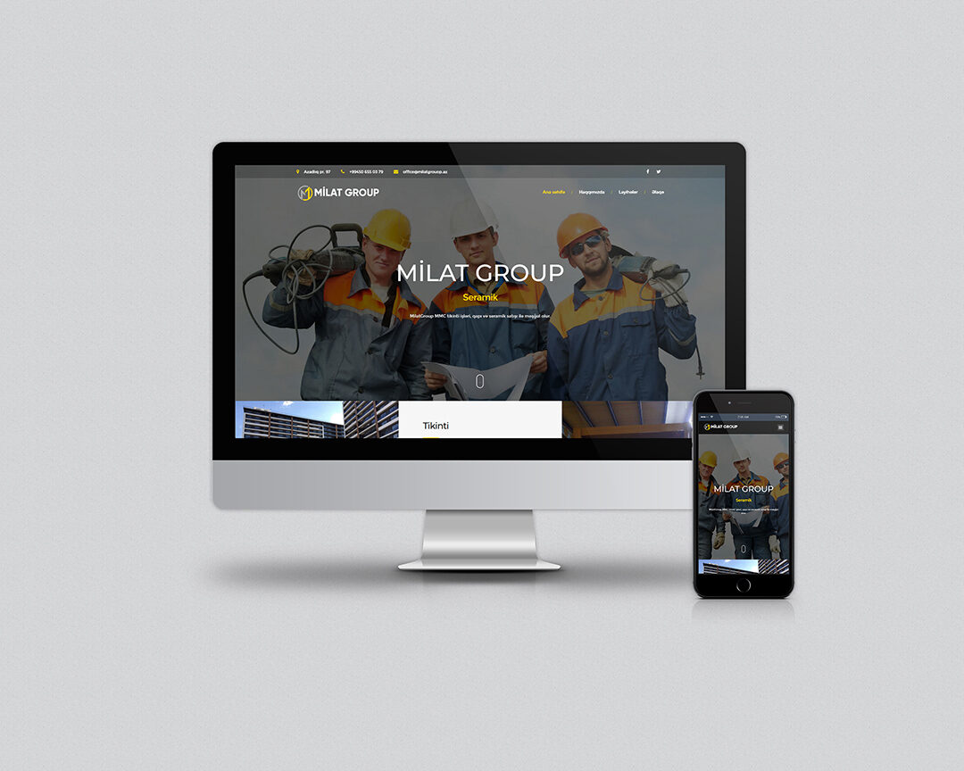 Veb-dizayn, veb saytların hazırlanması, yığılması, dizaynı, yaradılması. Bakıda, Azərbaycanda.